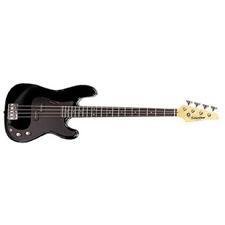 Silvertone Revolver Bass - Black