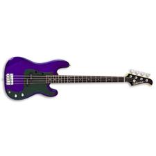 Silvertone Revolver Bass - Cobalt Blue