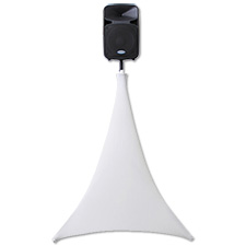 SCRIM WERKS 360 DEGREE SLIP SCREEN FOR TRIPOD STANDS WHITE
