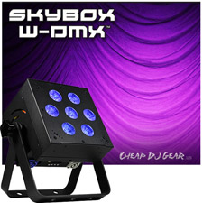 Blizzard Lighting SkyBox™ W-DMX- (Black)