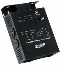 T4 - Instant Sound-to-light chase controller