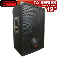 TA-120 Speaker 750 Watts 3-Way