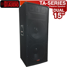 TA-300 Speaker 1500 Watts 3-Way