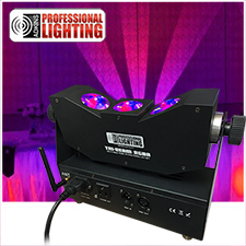 LED Tri-Beam RGBA Wireless Battery Up-Light - Adkins Professional Lighting