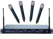 VocoPro UHF-5800 4-Channel Wireless Microphone System