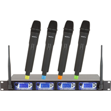 UHF-5900 Vocopro 4 Channel Wireless Mic