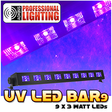 UV LED Black Light Bar 9