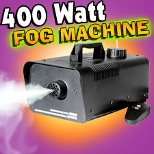 Foggie 400 Watt Fog Machine W/Remote
