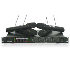 Technical Pro WM-1401 Quad Wireless Microphone System