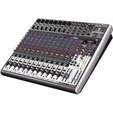 Behringer X2222USB 22-Input 2/2-Bus Audio Mixer w/Effects