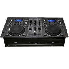 GEMINI CDM-3250 DUAL CD PLAYER MIXING CONSOLE