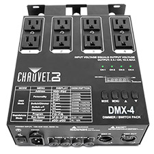 Chauvet DMX-4 Dimmer/Relay Pack