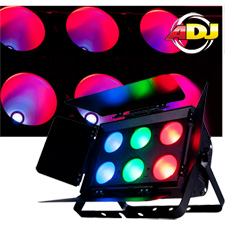 American DJ Dotz Flood Wash Blinder Fixture