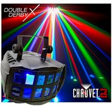 Chauvet Double DerbyX DMX LED Effect Light