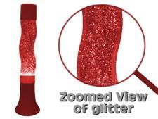 16 inch RED Groovy Stardust Glitter Lamp