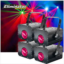 Eliminator Lighting Electro 4 Pak II LED Lighting System