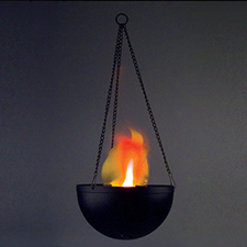 Hanging Flame Lamp