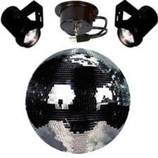 16 Motorized Mirror Ball Package