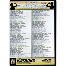 DIVX DVD - 100 Songs on one disc - Karaoke Party Vol 3