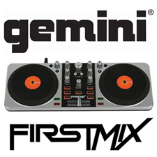 Gemini First Mix USB Digital DJ Controller