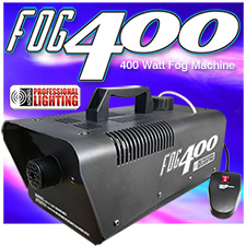 Heavy Duty 400 Watt Fog Machine W/Remote