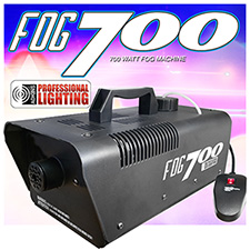Adkins Pro Lighting 700 Watt Fog Machine