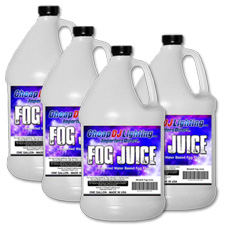 High Quality Fog Juice - 4 Gallon Case - Best Seller!