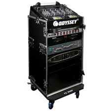 Odyssey FR1016W Flight Ready Mixer Combo Rack