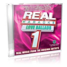 Real Karaoke Love Ballads G3693 Karaoke CDG