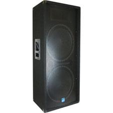 Gemini GT-3004 - Dual 15 inch DJ Speaker 1200 Watts