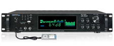 Technical Pro 2500W Digital Hybrid Amplifier / Preamp / Tuner with USB and SD Card Inputs