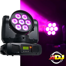 American DJ Inno Color Beam Quad 7 LED Moving Head