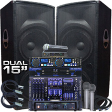 Karaoke / DJ System - Extreme Power - 4200 Watts!