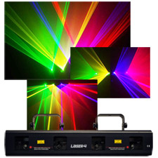 4 Color Laser Light