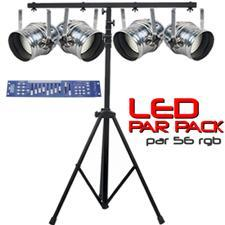 LED Par Pack - Par 56 RGB DMX