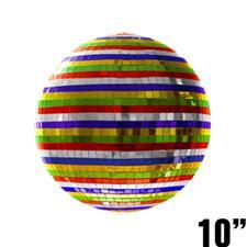 10 Inch Mirror Ball - Multicolored