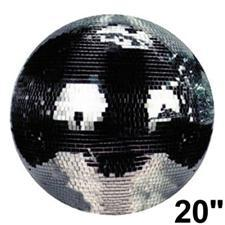 "20"" Mirror Ball - High Quality Glass"