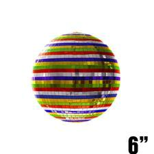 6 inch Multicolored Mirror Ball