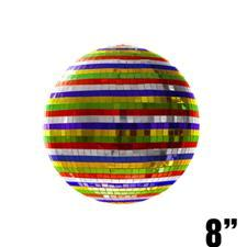 8 inch Mirror Ball - Multicolored