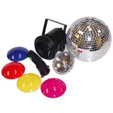 8 inch Mirror Ball Party Kit