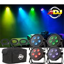 American DJ Mega Flat Tri Pak