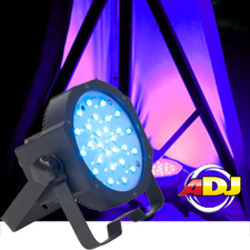 American DJ Mega Go Flood Par LED Par Can