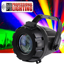 Micro Moonflower LED DJ Lighting Effect - Twice as bright as the ADJ Micro Moon.