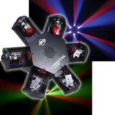 American DJ Nucleus LED 6-Head Scanning Centerpiece Effect