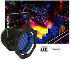 American DJ P64 LED UV DMX Blacklight Par Can