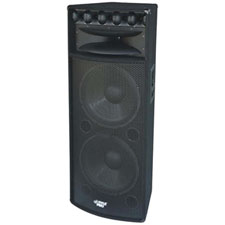 Pyle Pro - PADH215 - Speaker 2000 Watts 3-Way w/ dual 15