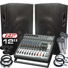 Complete PA System - 500 Watts - Everything You Need!
