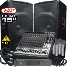 Complete PA System - 4000 Watts - Everything You Need!