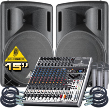 Complete PA System - Everything You Need!