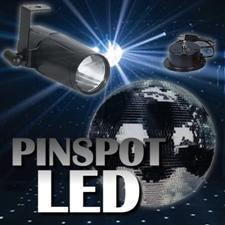 Pinspot LED 20 inch Mirror Ball Package